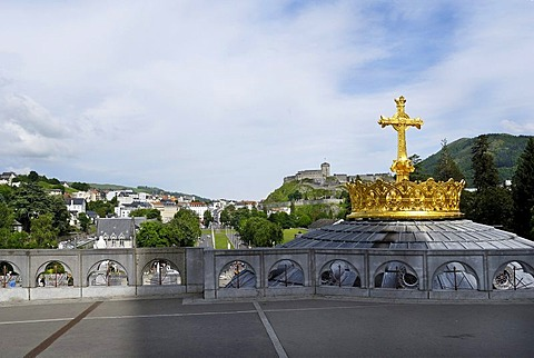 Churches and chapels, Lourdes, Pyrenees, France, Europe