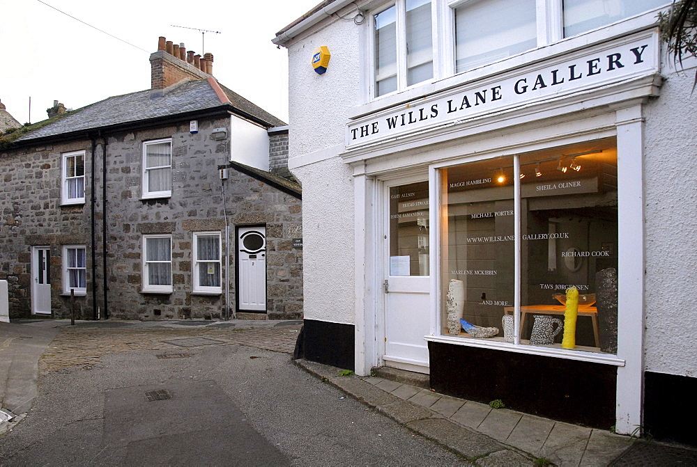 Art Gallery, artist's town, coastal town, St. Ives, Cornwall, southern England, England, UK, Europe