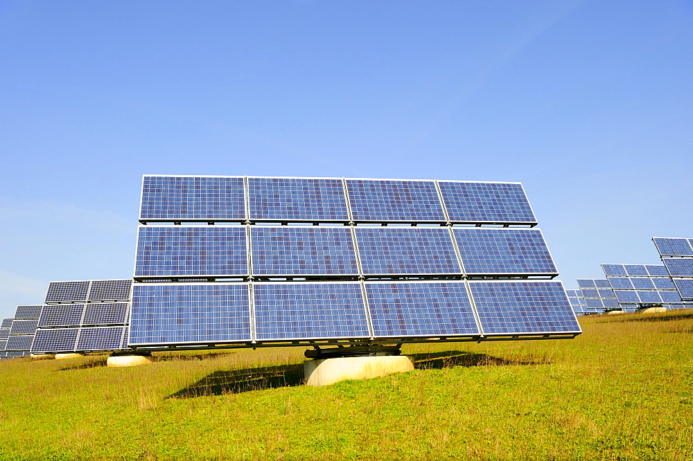 Solar system, solar panels