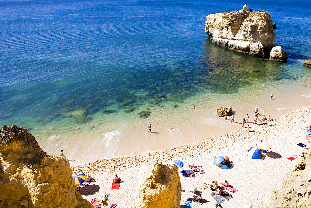 Sao Rafael beach in Algarve, Portugal, Europe