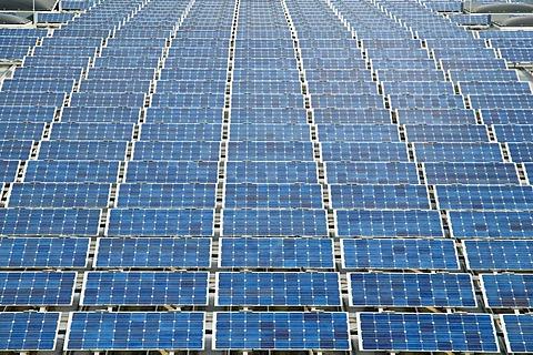 Large solar energy system