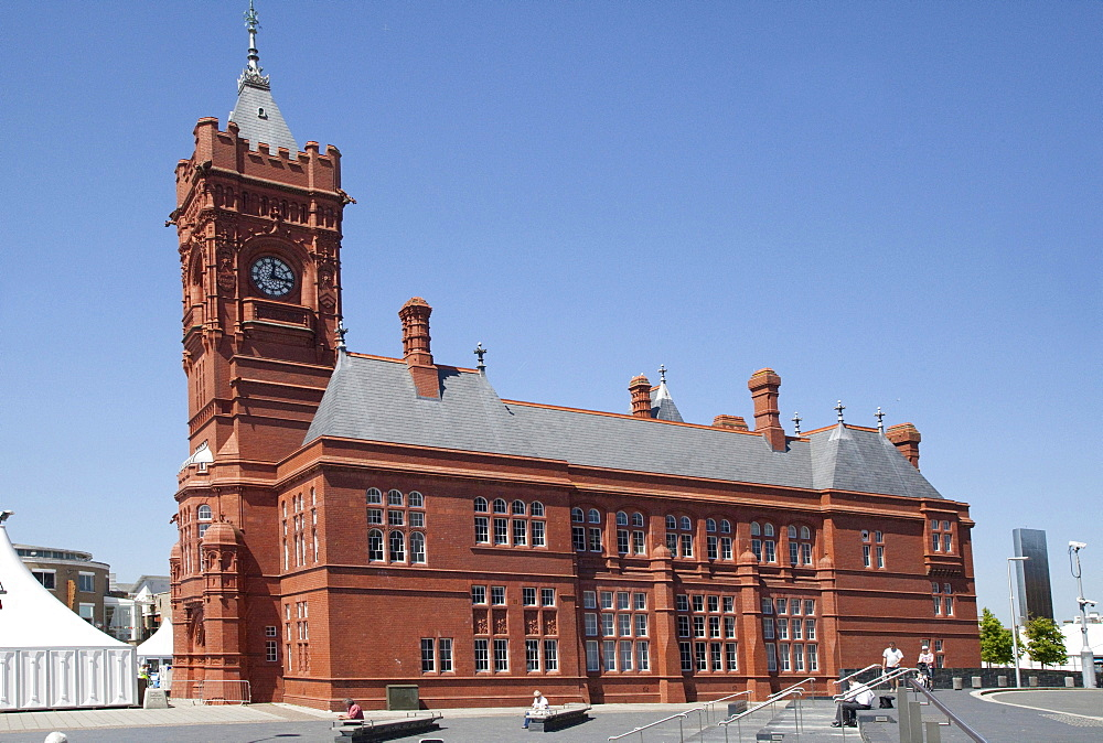 Pierhead Building, Cardiff, Wales, United Kingdom, Europe