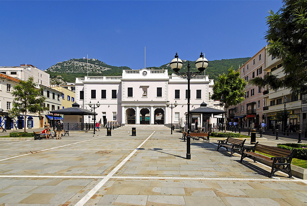 City hall, Gibraltar, Great Britain, Europe