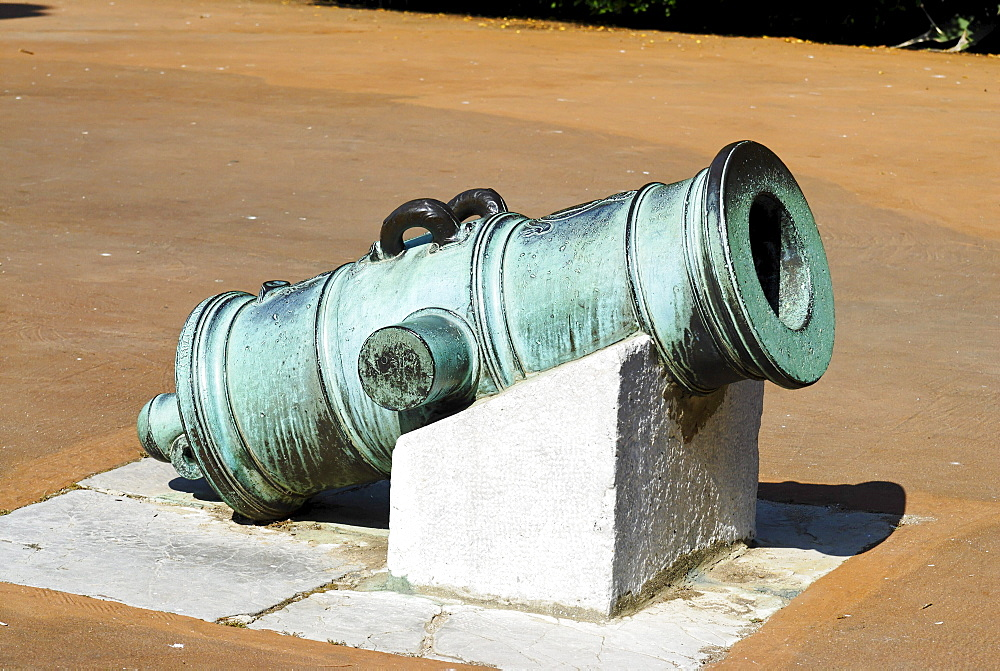 Historic mortar, Gibraltar, Great Britain, Europe