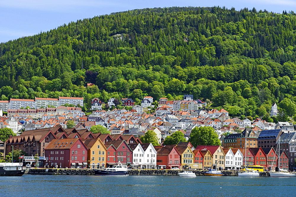 Hanseatic quarter, Bryggen, Bergen, Norway, Europe