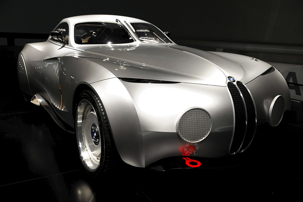 BMW Concept Coupe, BMW Museum, Munich, Bavaria, Germany, Europe