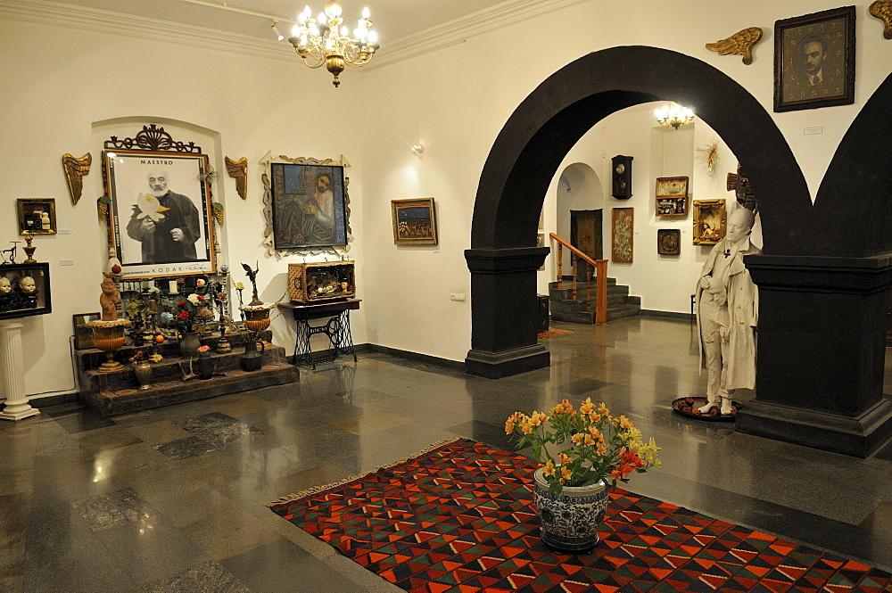 Sergei Parajanov or Sergej Paradjanov, Georgian, Armenian filmmaker and artist, Museum, Yerevan, Jerewan, Armenia, Asia