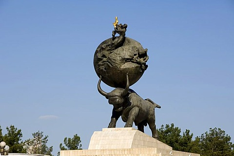 Monument to the Earthquake of 1948, Ashgabat, Turkmenistan