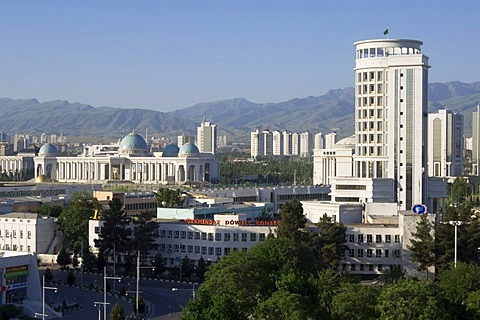 Administrative and residential buildings, Ashgabat, Turkmenistan