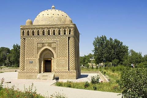 Ismail Samani mausoleum Bukhara, Uzbekistan, UNESCO World Heritage Site