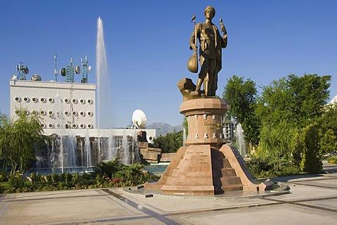 Statue of Garajaaglan, Ashgabat, Turkmenistan