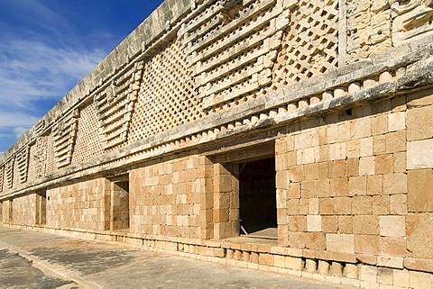 Uxmal, UNESCO World Heritage Site, Cuadrangulo de las Monjas, The Nunnery Quadrangle, Yucatan, Mexico