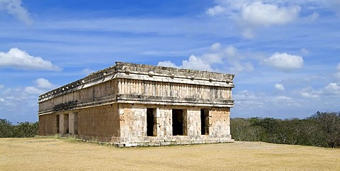 Uxmal, UNESCO World Heritage Site, Casa de las Tortugas, House of the Turtles, Yucatan, Mexico