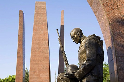 Ashgabat, Memorial to the Second World War veterans, Turkmenistan