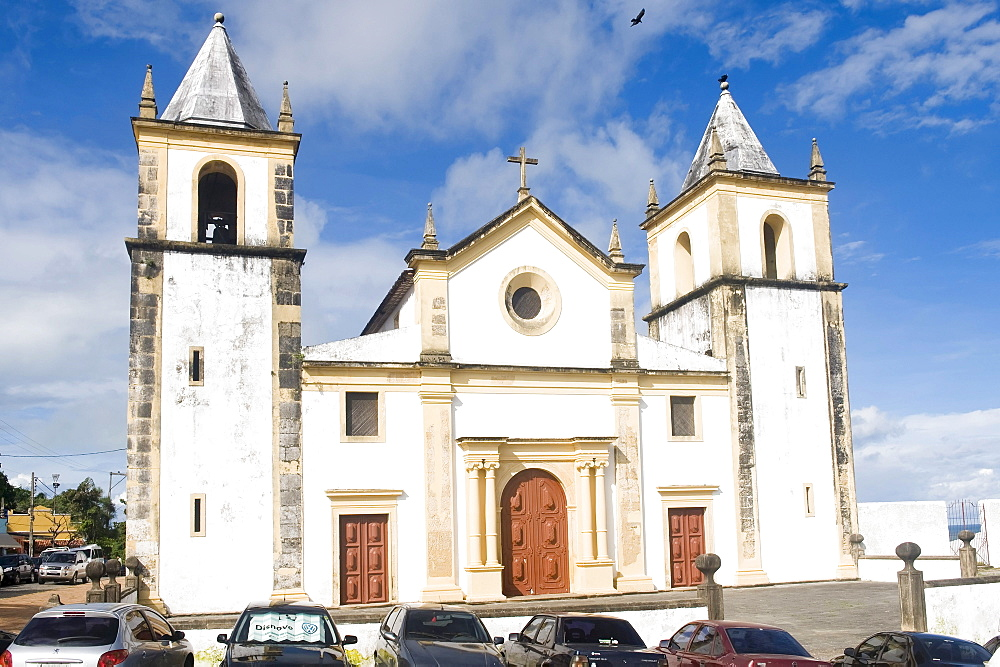 Cathedral Alto da Se, Olinda, UNESCO World Heritage Site, Pernambuco state, Brazil, South America