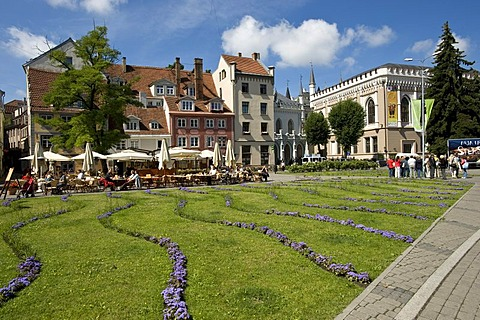 Great and Small Guildehouse, city center, Riga, Latvia, Baltic States, PublicGround