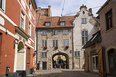 Swedish gate, Riga, Latvia, Baltic states