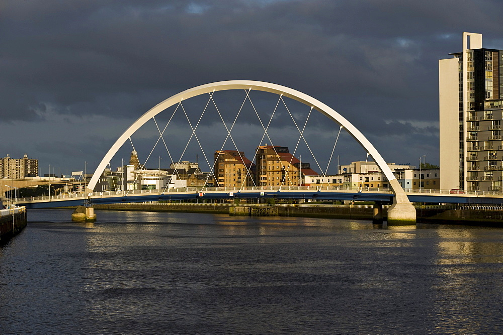 Clyde Arch, Glasgow, Scotland, United Kingdom, Europe, PublicGround