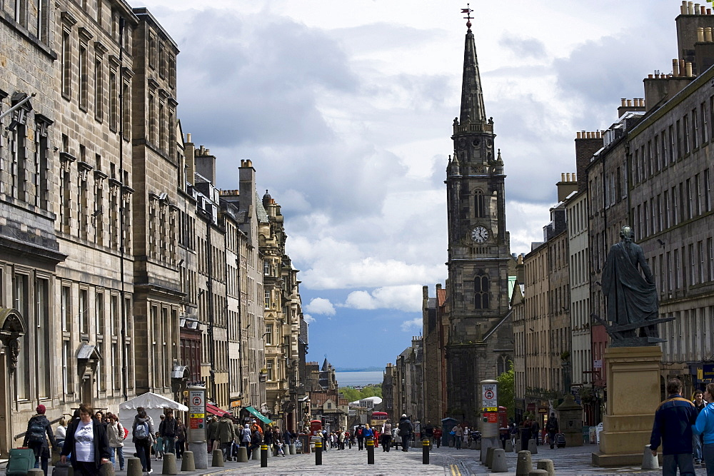 Royal Mile, Edinburgh, Scotland, United Kingdom, Europe