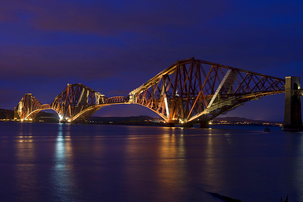 Forth Firth Bridge, Edinburgh, Scotland, United Kingdom, Europe