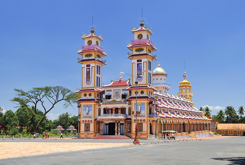 Cao Dai Temple, Nui Ba Den, Tay Ninh, Vietnam, Asia