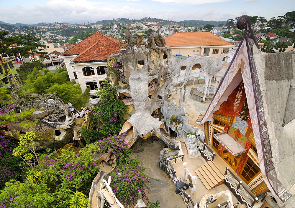 Crazy House Hotel, Hang Nga Guesthouse, Dalat, Central Highlands, Vietnam, Asia