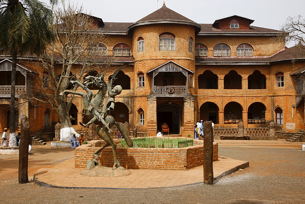 Sultan's Palace, Foumban, Cameroon, Africa