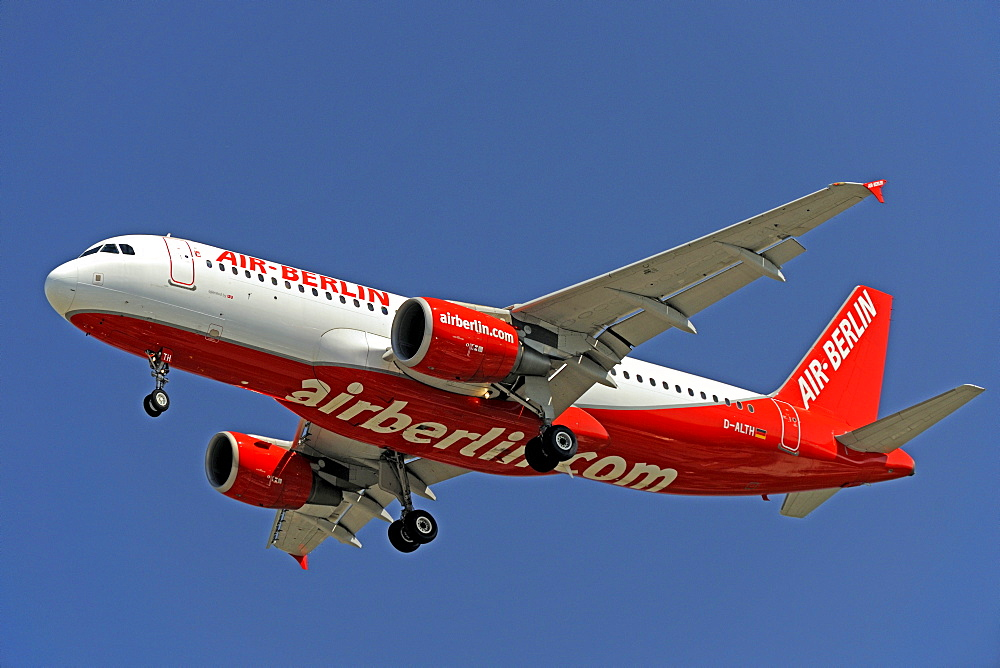 Airbus of the airline Air Berlin