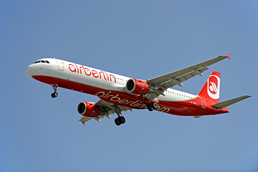 Boeing of the airline Air Berlin