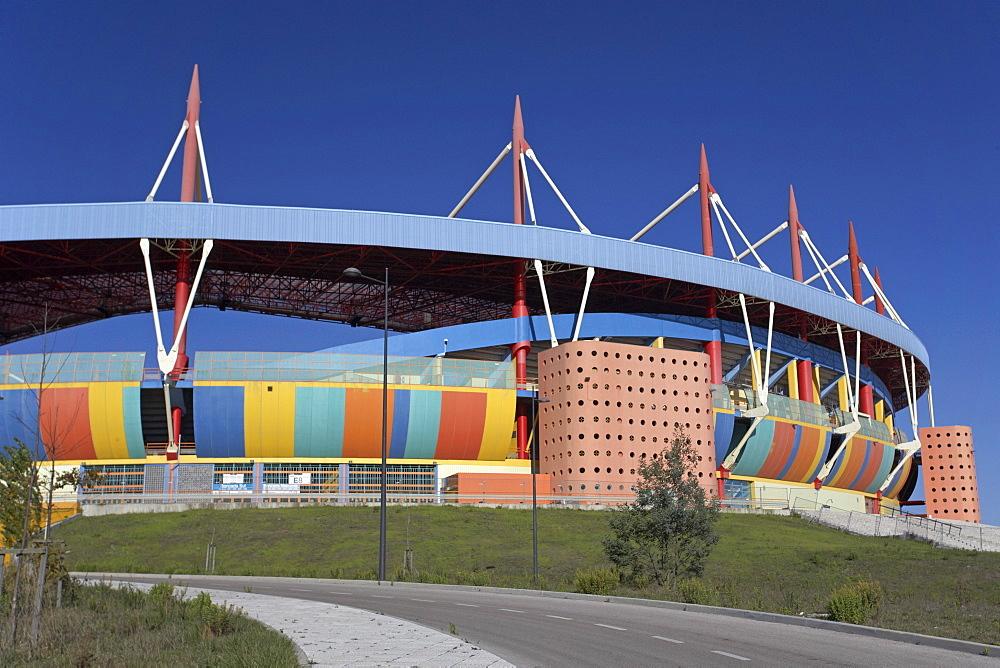 Stadium, architect Tomas Taveira, Aveiro, Portugal, Europe
