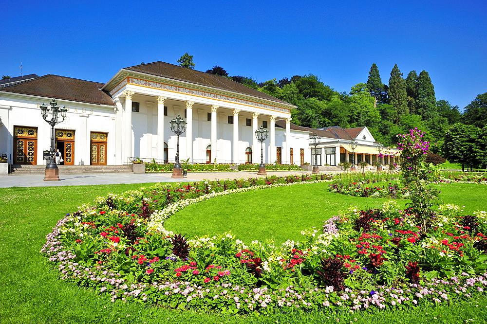 Kurhaus spa hotel, Baden-Baden, Black Forest, Baden-Wuerttemberg, Germany, Europe
