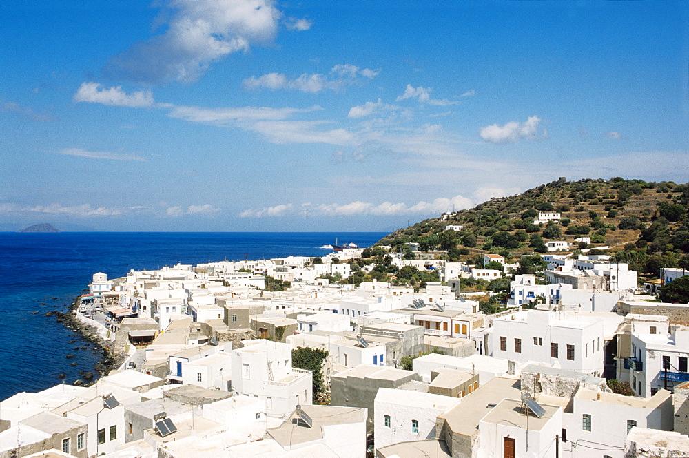 Mandraki, island of Nisyros, Dodecanese Islands, Greece, Europe