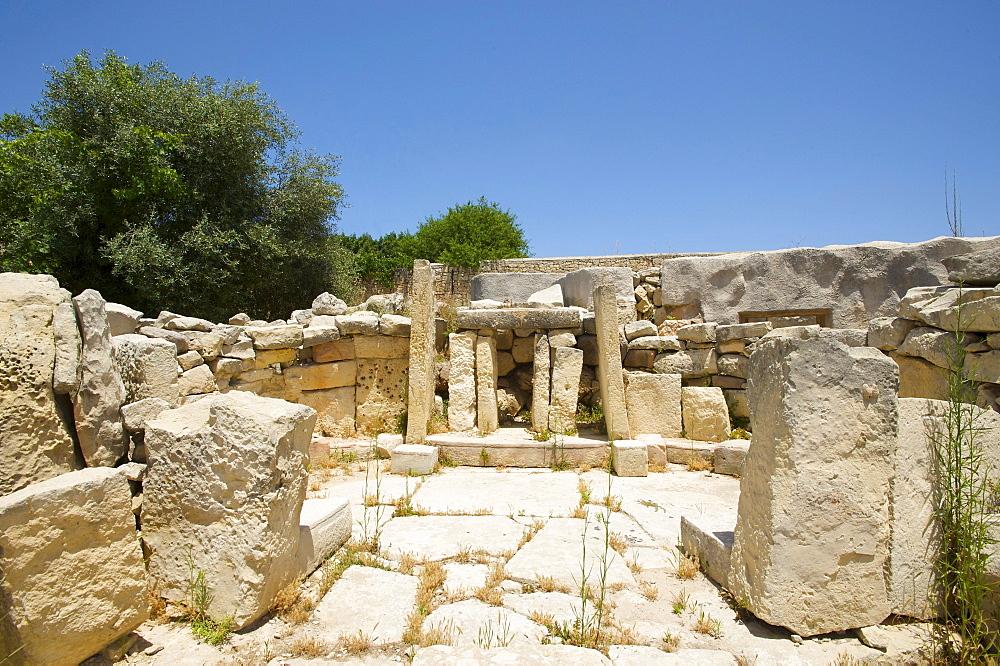 Tarxien Temples near Valletta, Malta, Europe