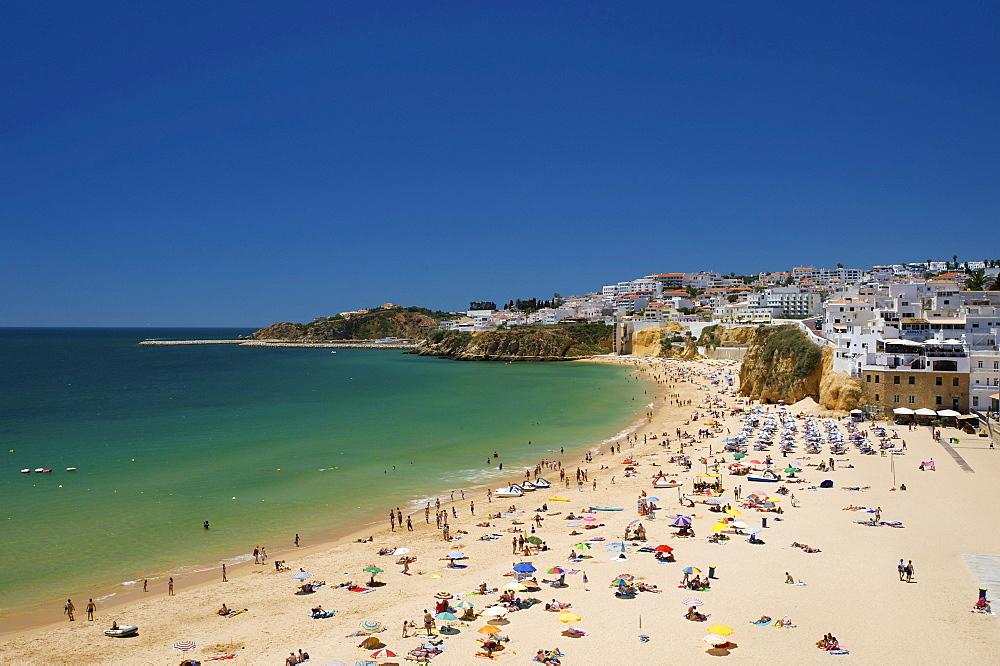 Beach in Albufeira, Algarve, Portugal, Europe
