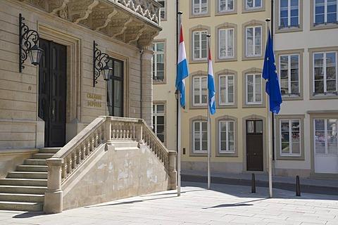 Chambre des Deputes, Luxembourg Parliament, Rue du Marche aux Herbes, Luxembourg