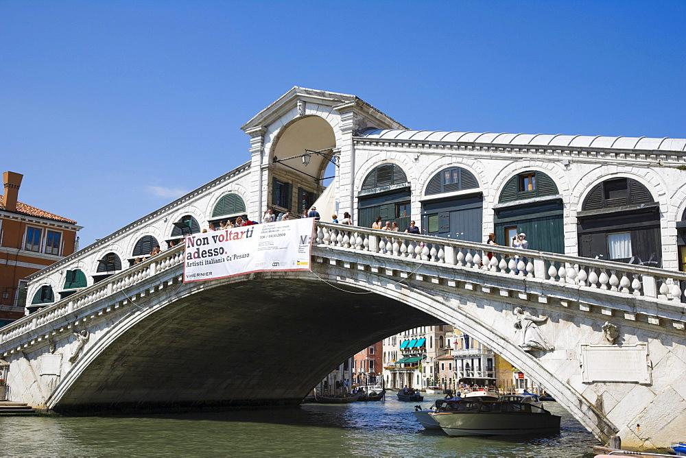 Ponte di Rialto, Rialto Bridge, Venice, Italy, Europe