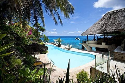 Sunset Beach Resort, Glacis, Mahe Island, Seychelles, Indian Ocean, Africa