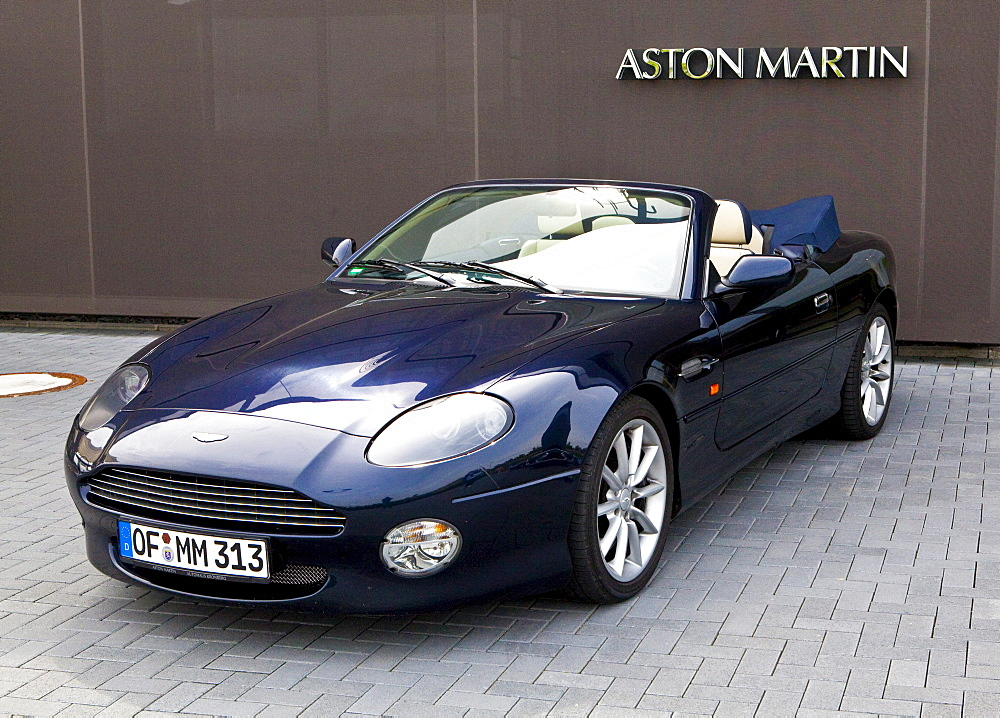 Aston Martin DB7 Vantage Volante, Aston Martin Test Center, Nurburgring race track, Rhineland-Palatinate, Germany, Europe