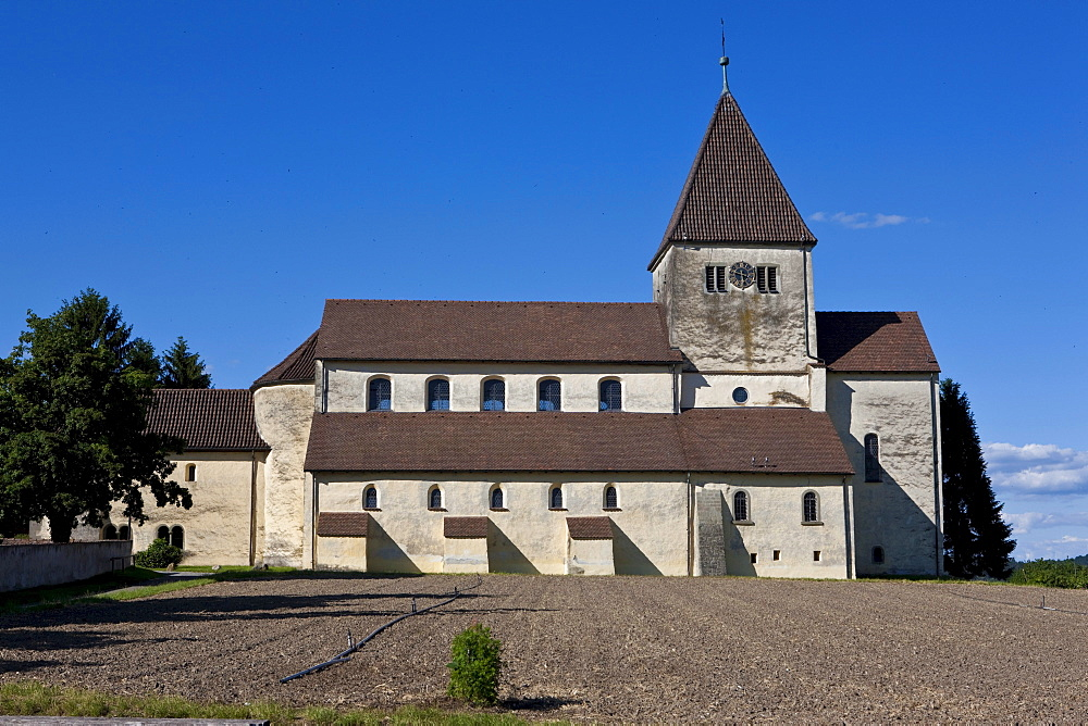St. Georg Church, Reichenau Island, Lake Constance, Baden-Wuerttemberg, Germany, Europe