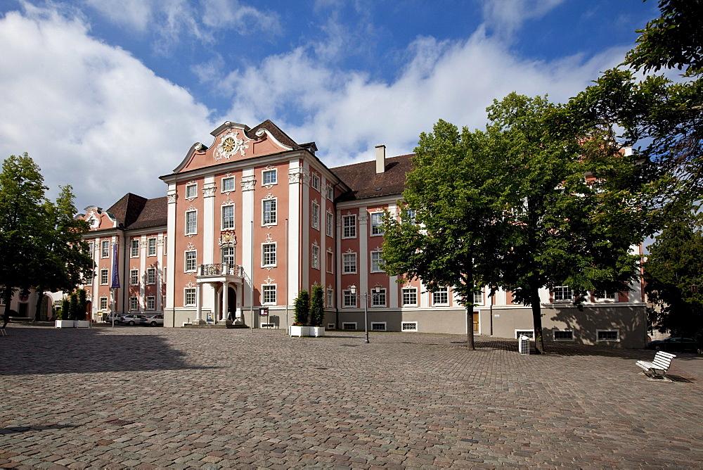 Neues Schloss new castle, Meersburg castle, Meersburg on Lake Constance, administrative district of Tuebingen, Bodenseekreis district, Baden-Wuerttemberg, Germany, Europe