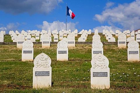 War graves, memorial park, Alsace, France