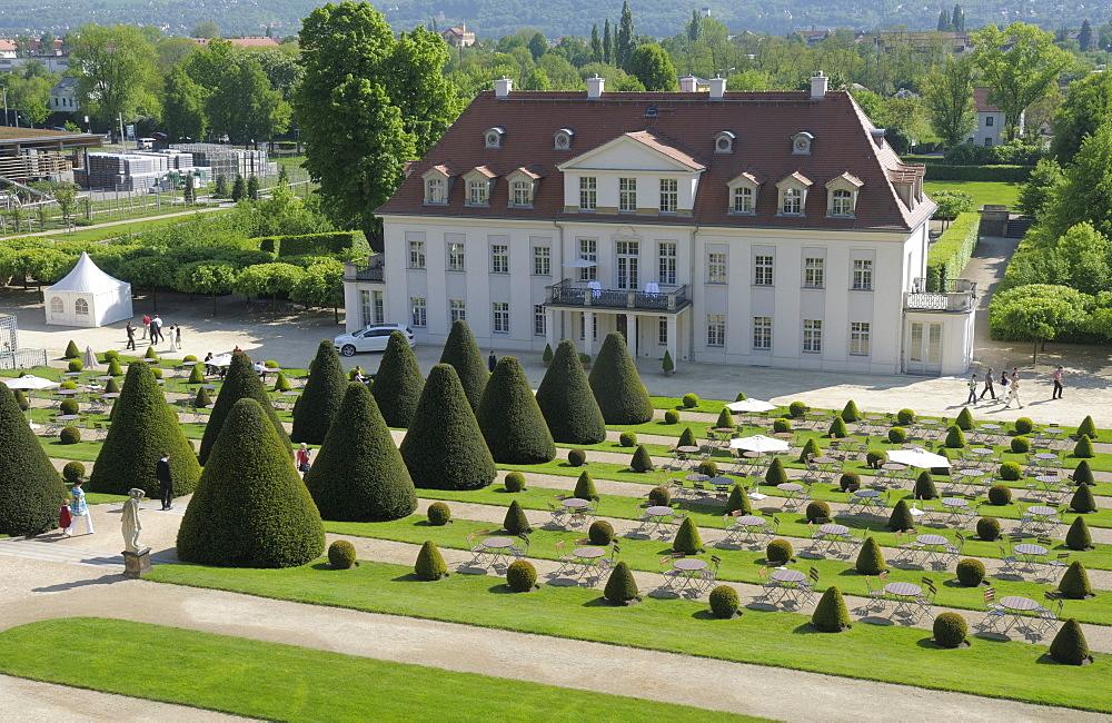 Schloss Wackerbarth Winery, Radebeul, Saxony, Germany, Europe
