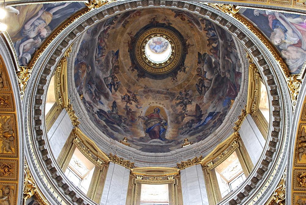 Dome of the Basilica di Santa Maria Maggiore, historic city centre, Rome, Italy, Europe