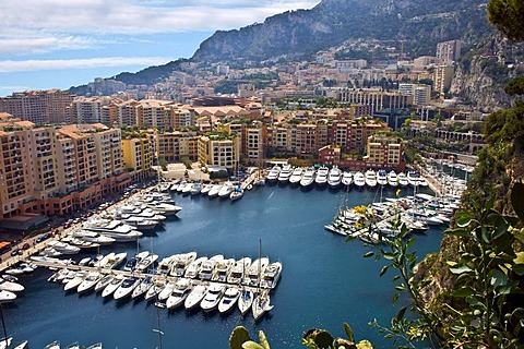 Luxury bay in Monte Carlo, Principality of Monaco, Europe