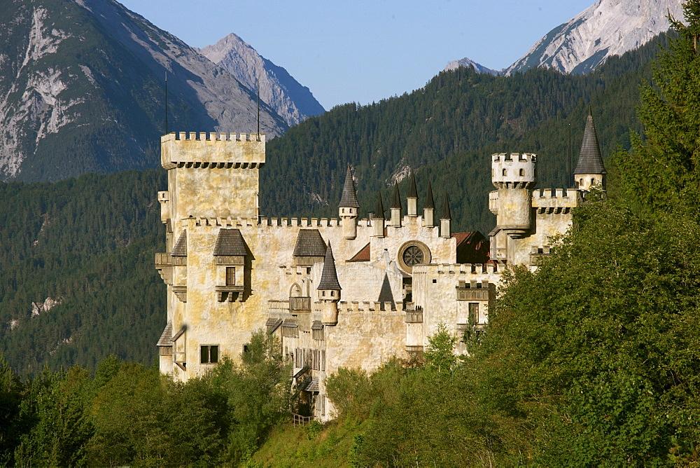 Play Castle in Seefeld, Tyrol, Austria, Europe