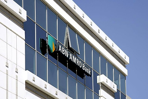 Head office of the Amro Bank, in Luxembourg, Europe