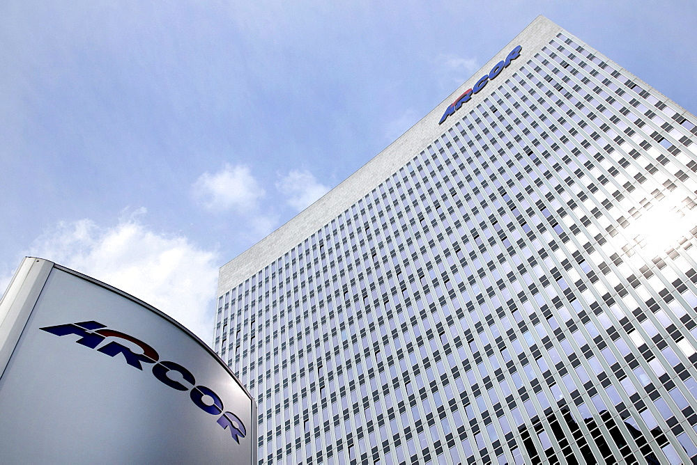 Headquarters of Arcor AG company in Eschborn, Hesse, Germany, Europe
