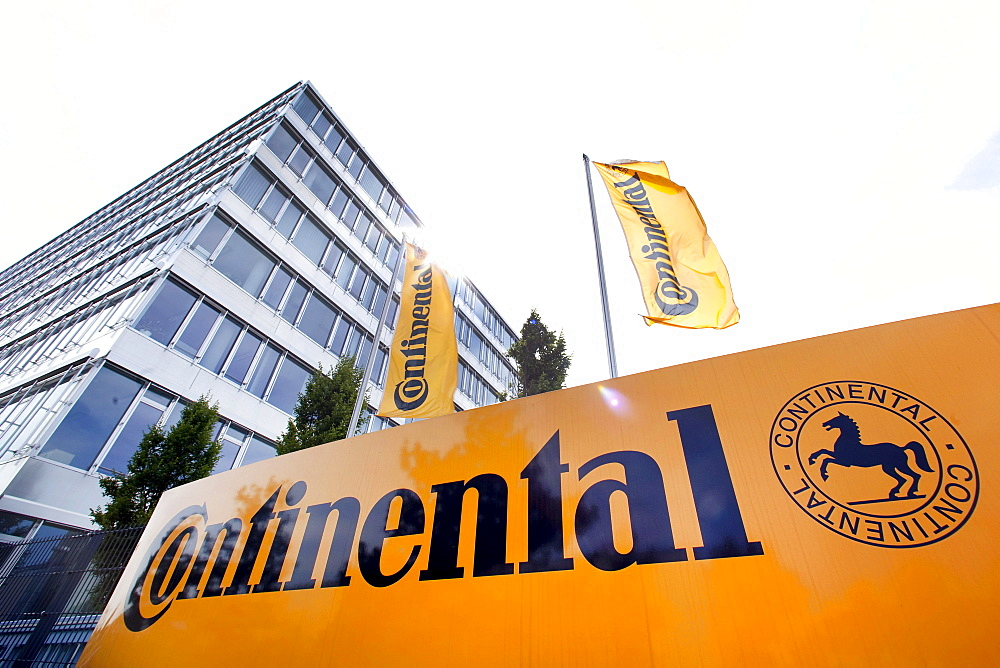 Headquarters of the Continental Automotive GmbH company in Regensburg, Bavaria, Germany, Europe