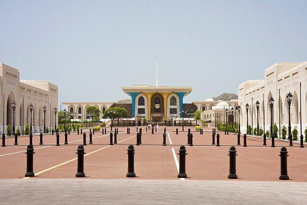 Al Alam Palace, Muscat, Oman, Middle East