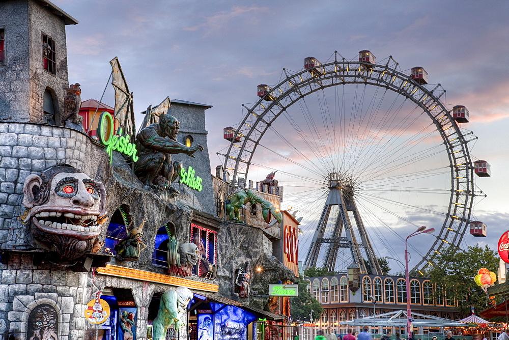 Amusement park, Prater, Vienna, Austria, Europe